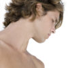Profile of a young man