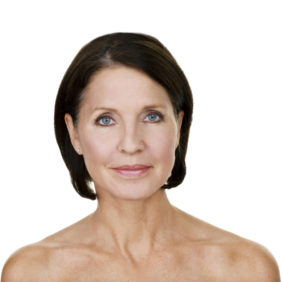 Beauty concept for mature woman